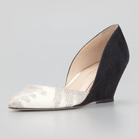 Rae Combo d'Orsay Wedge