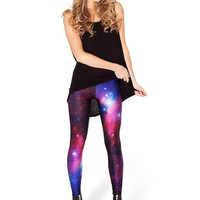 Stars and Space Print Leggings