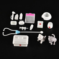 1 Set Doll Medical Supplies Plastic Play House Toy Doll's House Decoration X15F