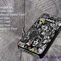 Oasis Band Liam Noel Galagher For iPhone 4/4S/5/5S/5C, Samsung Galaxy S3/S4, htc One X/x+/S Case, iPod Touch 4/5, Blackberry Case, Sony Case