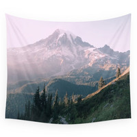 Society6 Mt. Rainier National Park Wall Tapestry