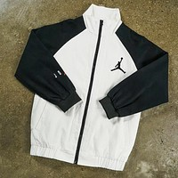 Jordan Popular Women Men Casual Zipper Cardigan Sweatshirt Jacket Coat