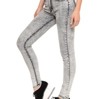 Static Acid Wash Jeans - Bottoms - Clothes   GYPSY WARRIOR