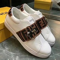 FENDI Women Fashion Simple Casual Shoes
