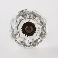 Fountain Knob by Anthropologie in Clear Size: One Size Knobs