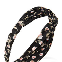 Vintage Floral Knotted Headwr
