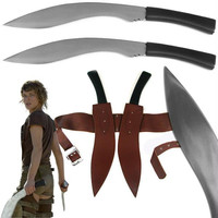 Resident Evil Double Kukri Sword Set with Sheath