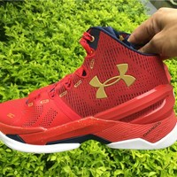 Under Armour Curry 2 Floor General 1259007-601 Basketball shoes