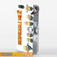 Despicable Me 2 Minions iPhone 4/4S, 5/5S, 5C Series Full Wrap Case