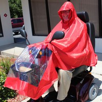 Scooter Rain Poncho J800 - Challenger Accessories Weather Protection   TopMobility.com