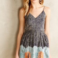 Ellis Mini Dress by Twelfth Street by Cynthia Vincent Blue Motif