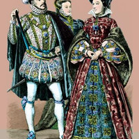 Lord Darnley, Margarette of Dorsette, and Mary Queen of Scotland, 16th Century 20x30 poster