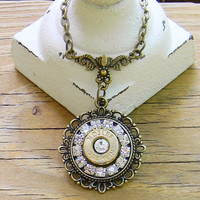 Bullet Necklace, Bullet Jewelry, Birthstone Jewelry, Outlaw Glam