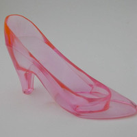 PINK Barbie or Princess Shoe (Large) - Princess Party Decoration, Party Game, Cake Topper