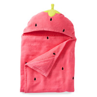 Strawberry Hooded Towel