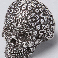 The Pirates Glamour Skull Ring in Silver by Disney Couture Jewelry   Karmaloop.com - Global Concrete Culture