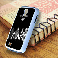 5 second of summer 5 SOS Music   For Samsung Galaxy S4 Cases   Free Shipping   AH0250