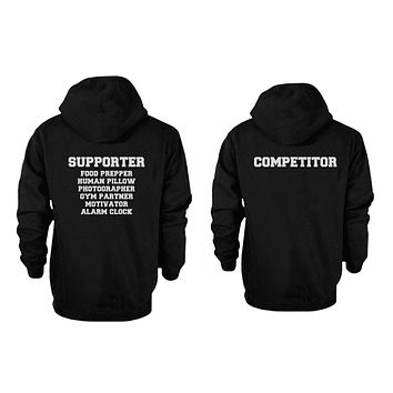 365 Printing Mummies Couple Cute Matching Hoodies Halloween Hooded Sweatshirts