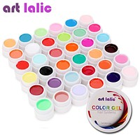 36 Colors UV Gel Set Pure Cover Color Decor For Nail Art