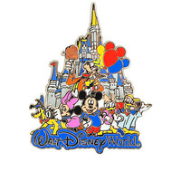 Walt Disney World Mickey Mouse and Friends Pin | Disney Store