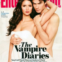"Vampire Diaries Entertainment Weekly Cover Poster 16""x24"""