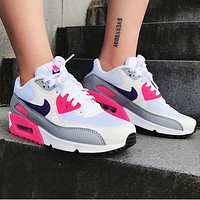 NIKE Air Max 90 Sneaker Sport Shoes Contrast Shoes Colorful