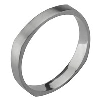 Square Shaped Silver Ring