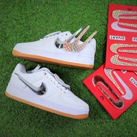 Travis Scott x Nike Air Force 1 AF1 100th Sport  Shoes - Best Online Sale