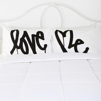 Urban Outfitters - Love Me By Curtis Kulig Pillowcase - Set Of 2