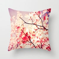 Dialogue With the Sky Throw Pillow by Olivia Joy StClaire