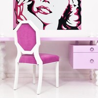 www.roomservicestore.com - Ibiza Desk in Light Pink