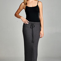 See Me Go Knit Maxi Skirt