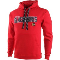 Chicago Blackhawks 2015 Winter Classic Laced Pullover Hoodie - Red