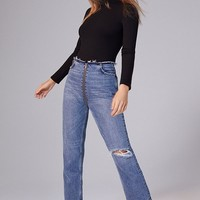 BDG High-Rise Cropped Zipper Jean   Urban Outfitters