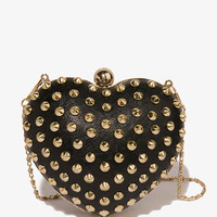 Spiked Heart Minaudiere   FOREVER21 - 1022441701