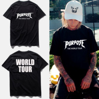 purpose tour Kanye t shirt