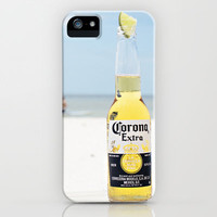 Corona and Lime iPhone & iPod Case by Kate Perry