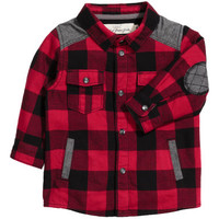 H&M Lined Flannel Shirt $24.99
