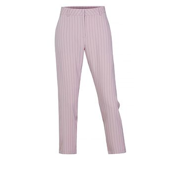 Classic Work Office Pin Striped Straight Leg Full Length Pants (CLEARANCE)