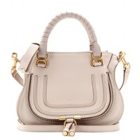 chloé - baby marcie leather tote
