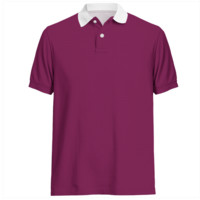 men's Lilac color  polo shirt from Marijke Verkerk Design