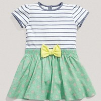 Girls Mix and Match Contrast Patterned Dress