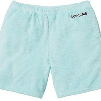 Supreme Terry Shorts - Mint