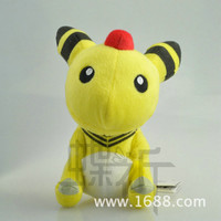 15cm Pokemon Go Crystal Version Ampharos Plush Plush Doll Toy For Gift Mythical Pokemon go High Quality Free Shipping