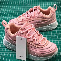 Folder x FILA Ray Pink Fashion Sneakers - Best Online Sale