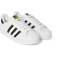 adidas Originals - Superstar Original Leather Sneakers | MR PORTER