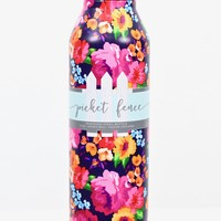 Raleigh Floral Print 17 oz Stainless Steel Bottle {Pink Mix}