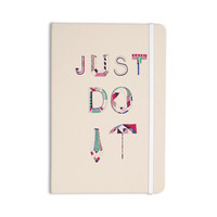 "Vasare Nar ""Just Do It"" Tan Rainbow Everything Notebook"
