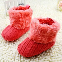 Shoes  Infants  Crochet  Fleece  Boots  Toddler  Shoes