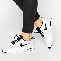 Nike | Nike White & Black Air Max Thea Trainers at ASOS